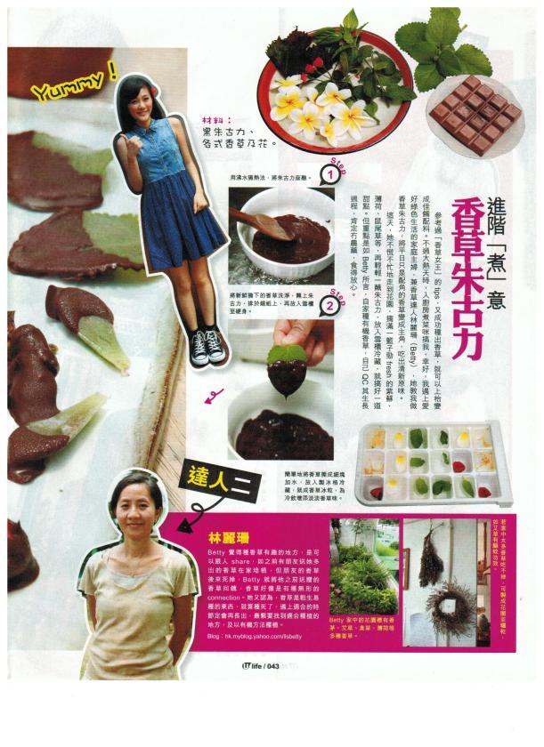 Umagazine 15-7-2011 香草種植#2 001